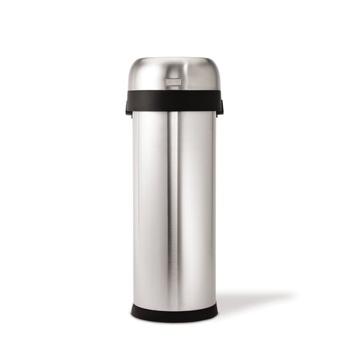 Simplehuman 50 L 13 Gal Slim Open Trash Can Commercial