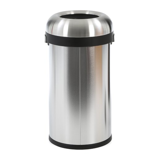 simplehuman 15.85-Gal. Bullet Open Trash Can