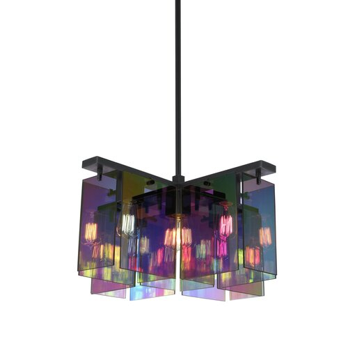 Sonneman Dichroix 5 Light Foyer Pendant