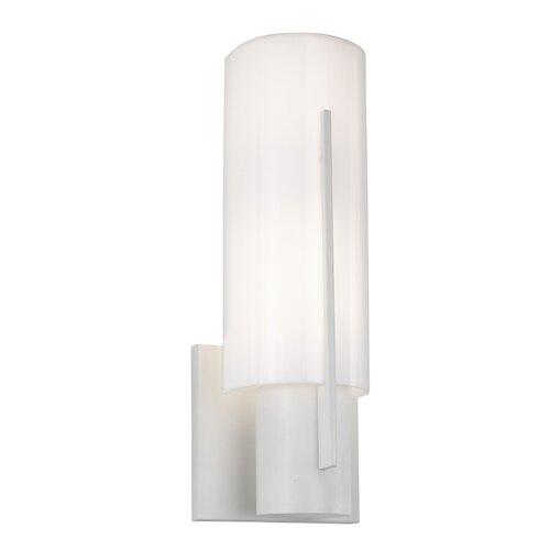Sonneman Oberon 1 Light Wall Sconce with Acrylic Shade