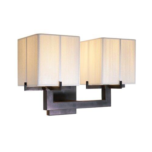 Sonneman Boxus 2 Light Double Wall Sconce