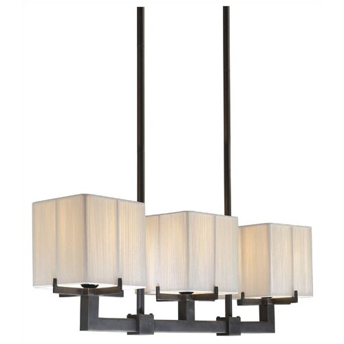 Sonneman Boxus 3-Light Pendant