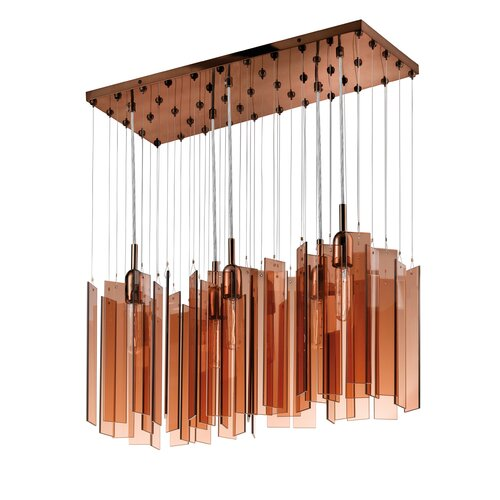Sonneman Chimes 5 Light Pendant