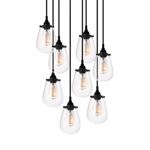 Sonneman Chelsea 8 Light Pendant