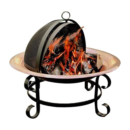 Landmann Copper Fire Pit with Spark Guard