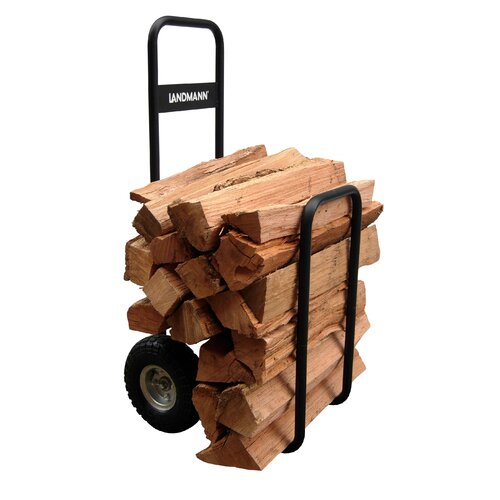 Landmann Firewood Log Caddy with Cover