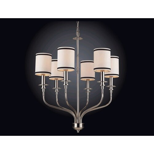 Elk Lighting Central Park Tribeca 6 Light Chandelier
