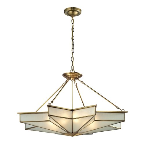 Decostar 8 Light Pendant