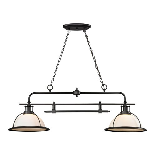 Wilmington 2 Light Kitchen Island/Billiard Pendant