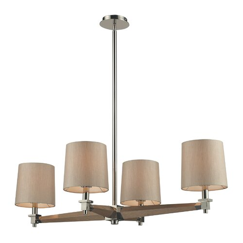 Jorgenson 4 Light Drum Chandelier