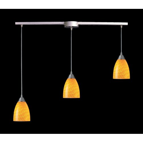 Elk Lighting Arco Baleno 3 Light Linear Pendant