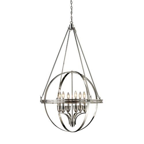 Elk Lighting Hemispheres 6 Light Chandelier