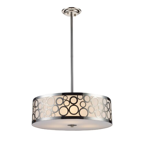 Retrovia 3 Light Drum Pendant