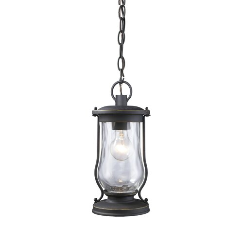 Silver Pewter Outdoor Hanging Lights