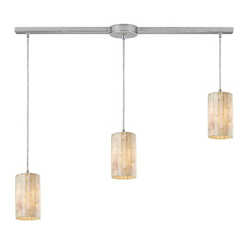 Elk Lighting Coletta 3 Light Linear Pendant