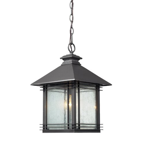 Elk Lighting Vuelta 1 Light Outdoor Pendant