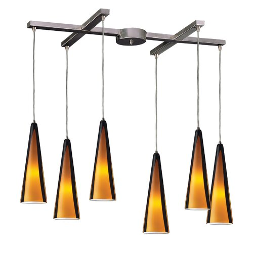 Elk Lighting Desert Winds 6 Light Pendant