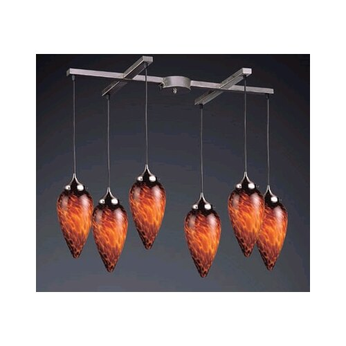 Elk Lighting Lacrima 6 Light Pendant