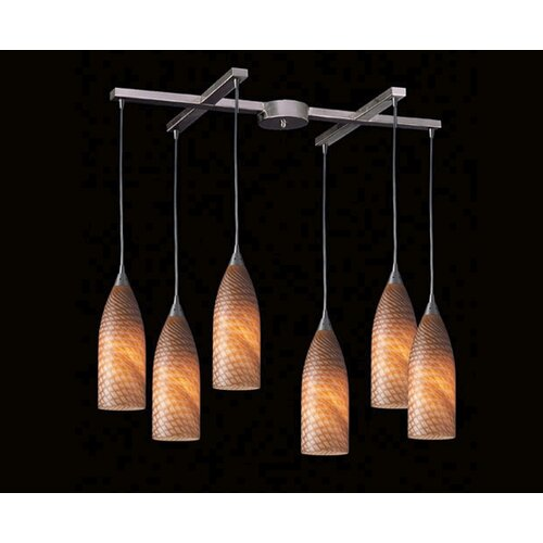 Cilindro 6 Light Pendant