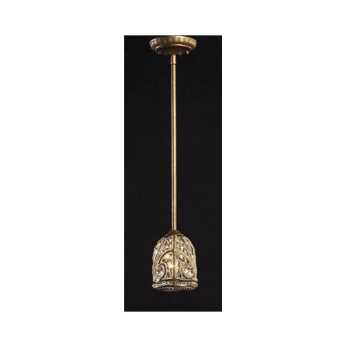 Elk Lighting Elizabethan 1 Light Mini Pendant