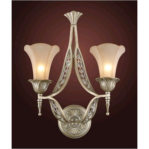 Elk Lighting Trump Home Central Park Chelsea 2 Light Wall Sconce