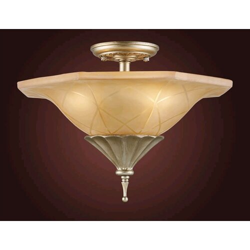 Elk Lighting Trump Home Central Park Chelsea Semi Flush Mount