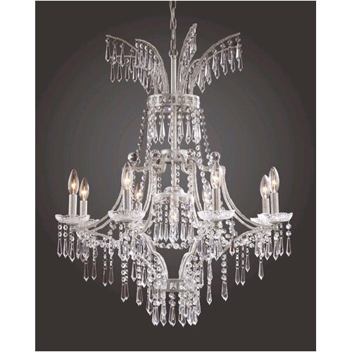 Elk Lighting La Fontaine 9 Light Chandelier