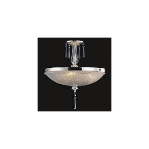 Elk Lighting Princess 3 Light Semi Flush Mount