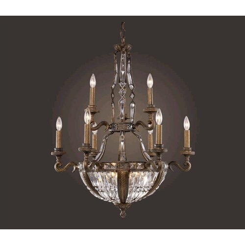 Trump Home Millwood 15 Light Candle Chandelier