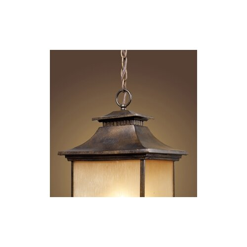 Elk Lighting San Gabriel 1 Light Outdoor Lantern