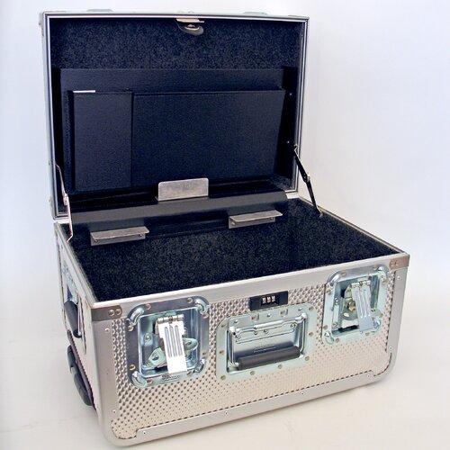 Aluminum Guardsman ATA Tool Case with Wheels and Telescoping Handle