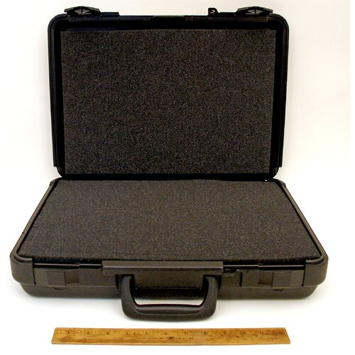Platt Blow Molded Case in Black: 13 x 18 x 4.25