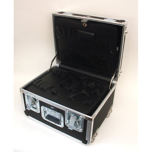 ozGuardsman ATA Tool Case with Wheels and Telescoping Handle