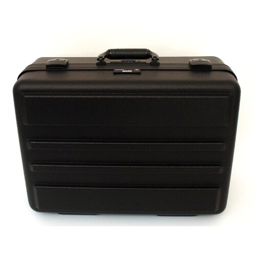 Ultimate Polyethylene Tool Case with Black Hardware in Black: 14 x 19 x 9