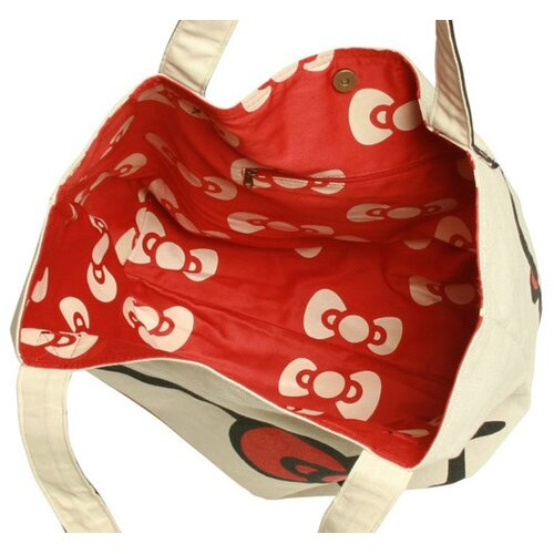 Hello Kitty Hello Kitty Canvas Face Tote Bag