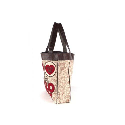 Hello Kitty Leopard Hug Me Tote Bag