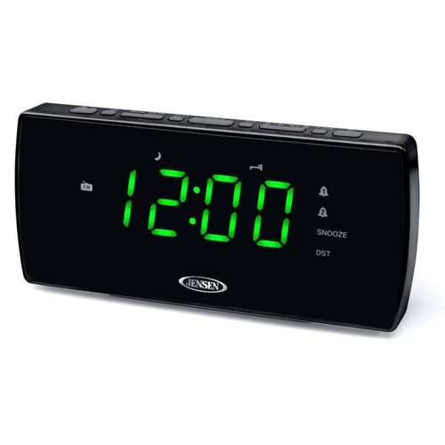 Jensen Radio Dual Alarm Clock