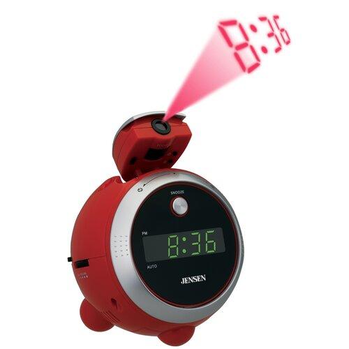 Jensen AM / FM Projection Clock Radio