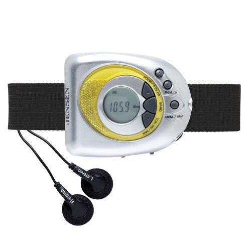 Digital AM/FM Stereo Armband Radio
