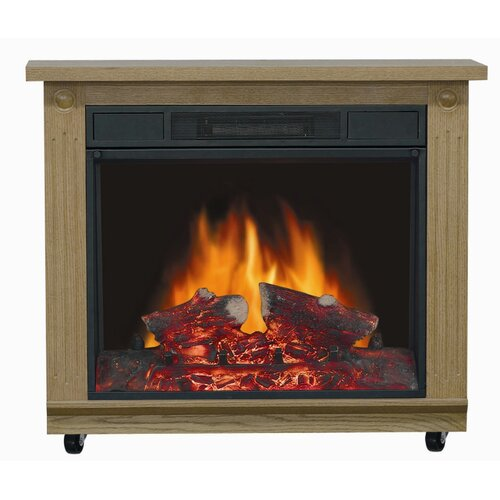 Comfort Glow Belleville Electric Mobile Fireplace