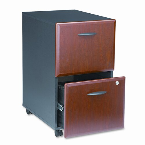 Bush Industries Series A 2-Drawer Mobile Pedestal