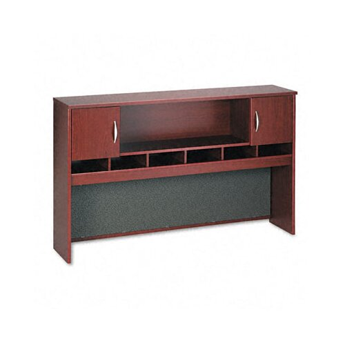 Bush Industries Series C Hutch with Two Doors/Open Center