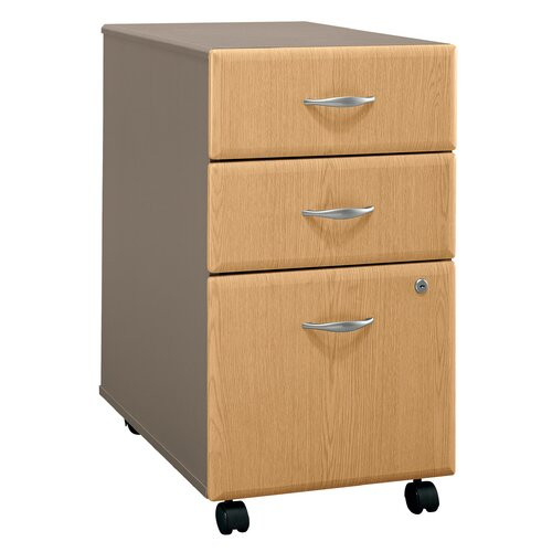 Bush Industries Series A 3-Drawer Mobile File