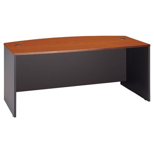 Bush Industries Series C Bow Front Desk Shell