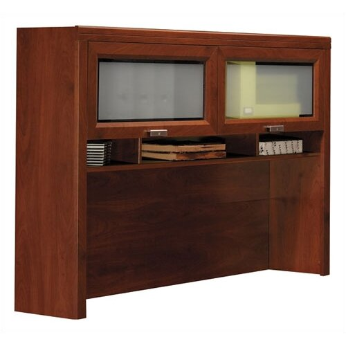Bush Industries Tuxedo L-Shaped Executive Desk and Hutch