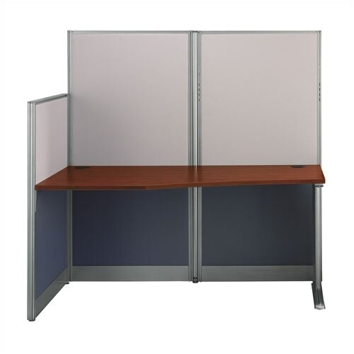 """Bush Industries Office-in-an-Hour 65"""" W Straight Workstation"""