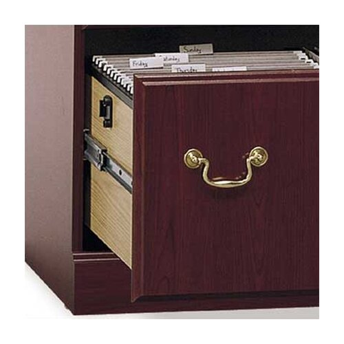 Bush Industries Saratoga 2 Drawer Executive Filing Cabinet