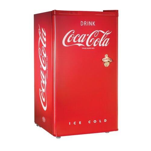Coca-Cola Series 3.0 Cu. Ft. Compact Refrigerator with freezer
