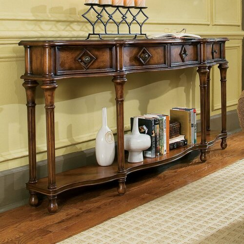 hooker furniture decorator hall console table reviews