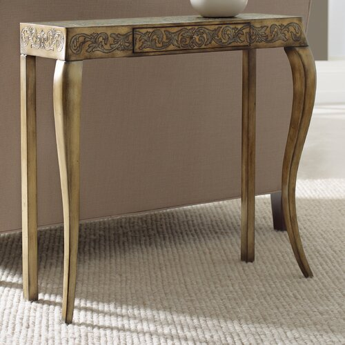 Embossed Design Console Table